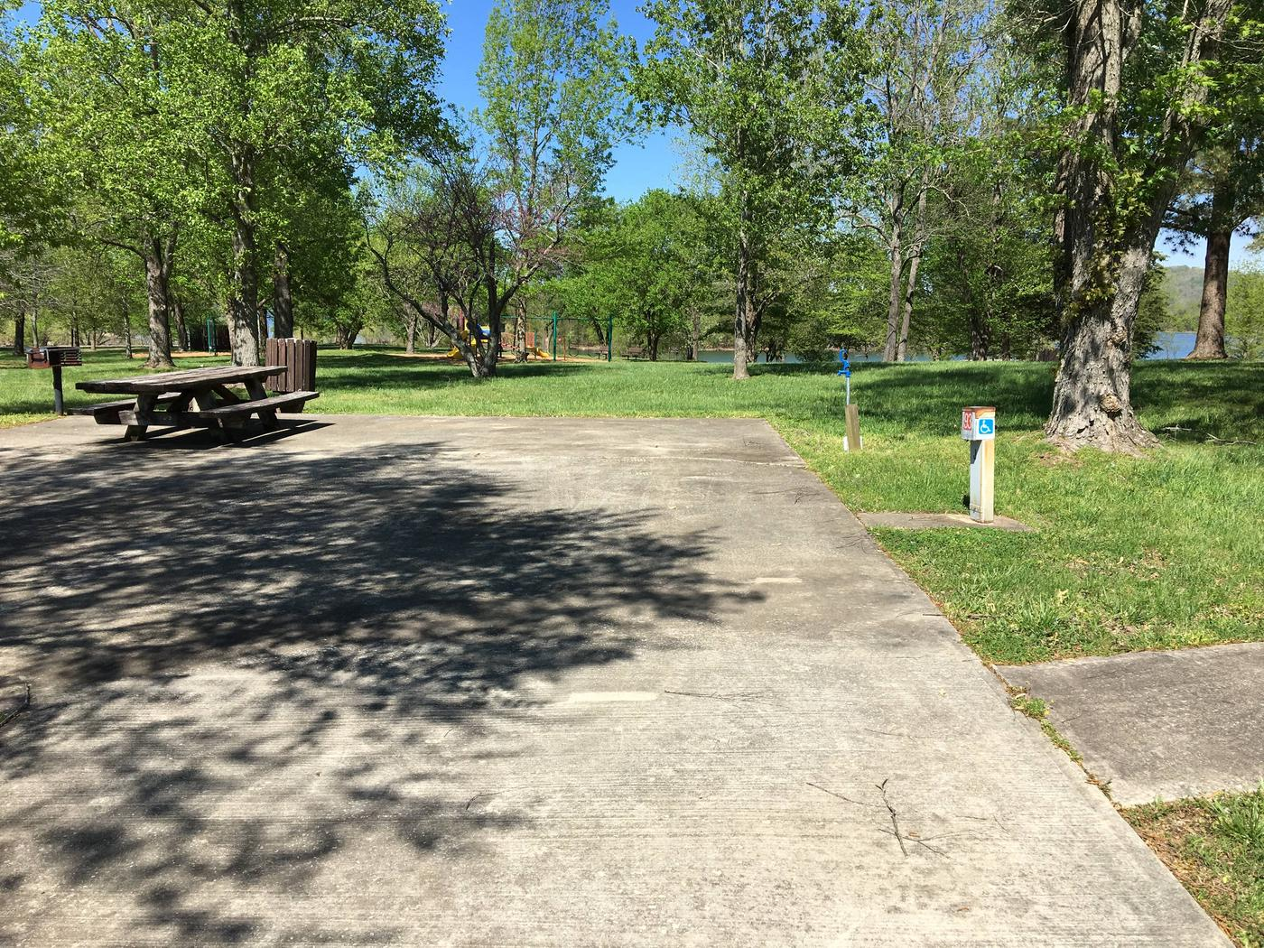LILLYDALE CAMPGROUND SITE # 93 ACCESSIBLE SITE MID SITELILLYDALE CAMPGROUND SITE # 93 ACCESSIBLE SITE