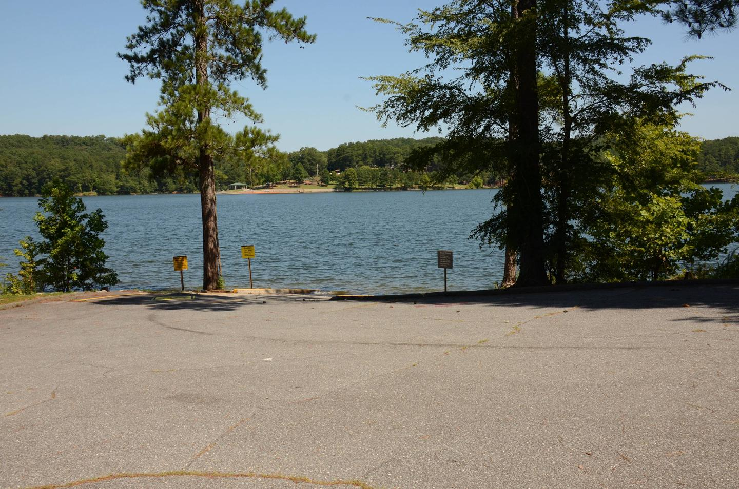 Boat ramp..Old 41 #3 campground boat ramp.