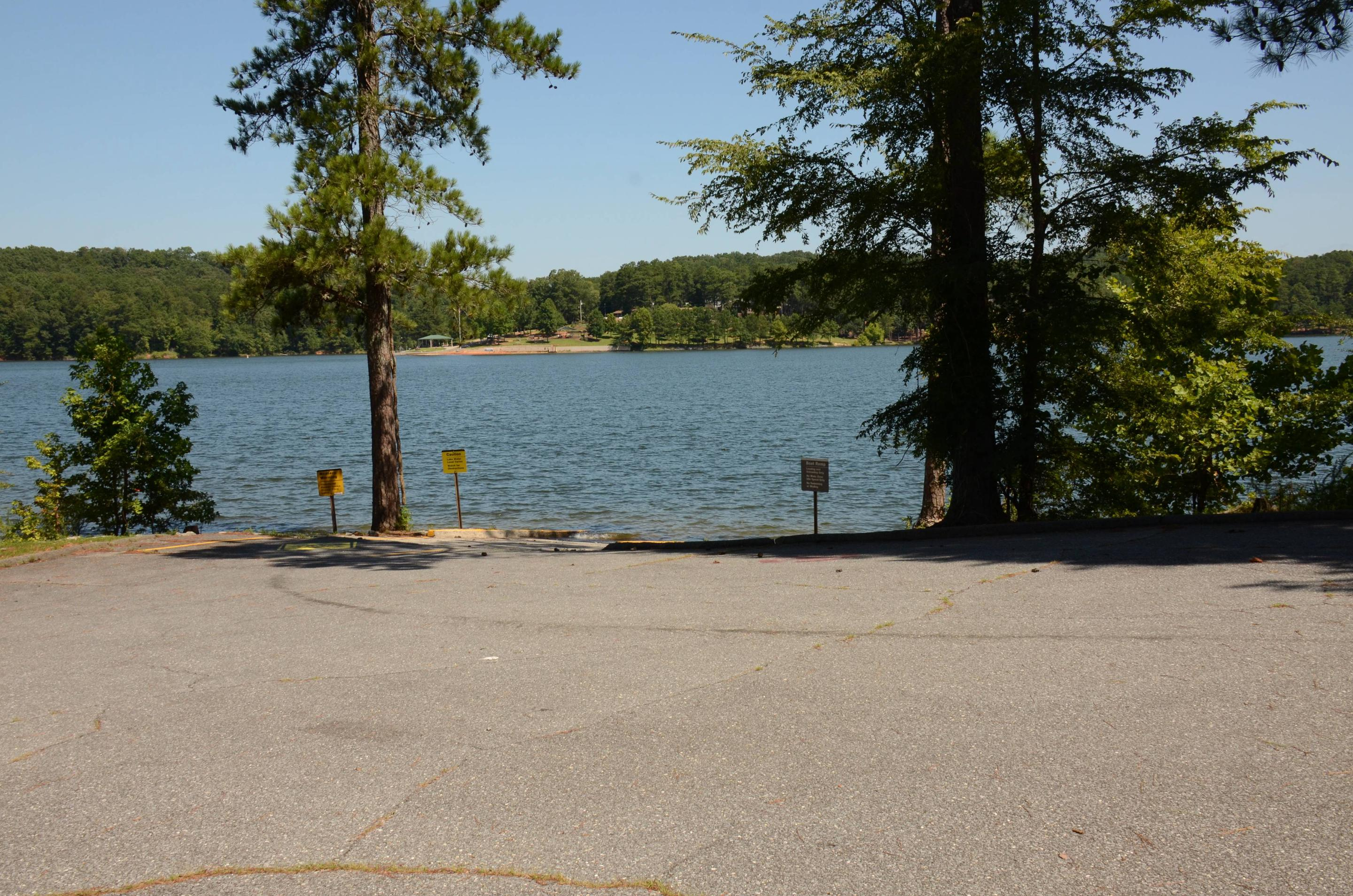 Boat ramp.Old 41 #3 campground boat ramp.