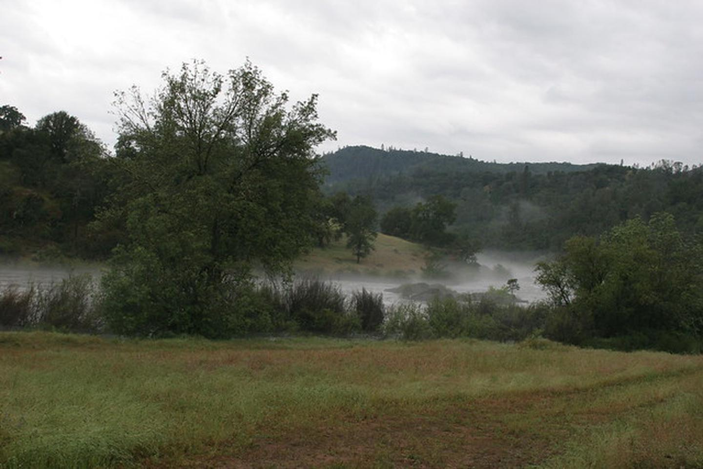 Cronan RanchFog rising from the American River