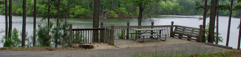 Upper Stamp Creek Campground, campsite 9Upper Stamp Creek Campground, campsite 9.