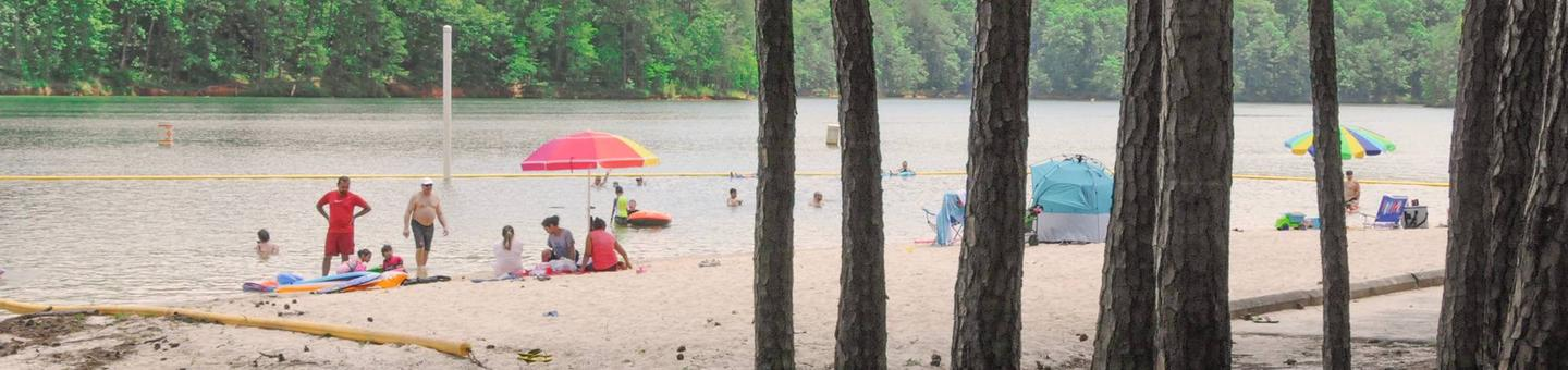 McKaskey Creek Campground Beach
