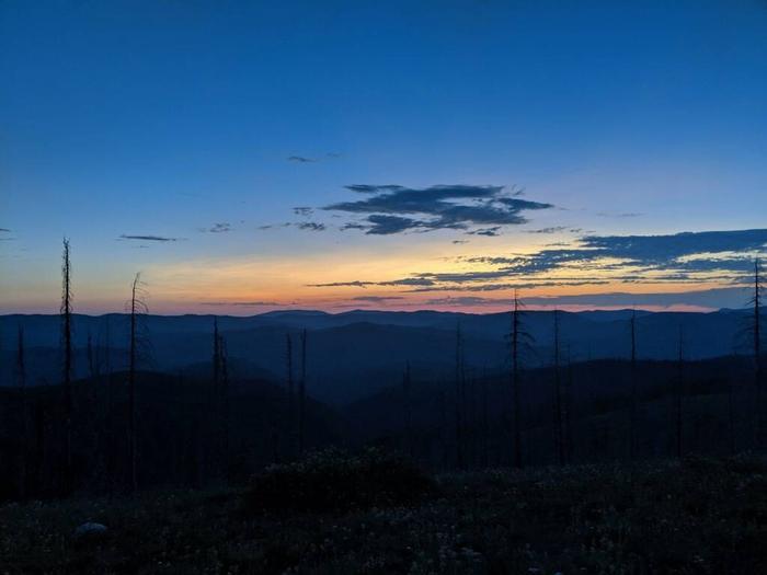 Sunset 2Sunset on Spyglass Peak