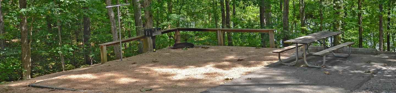McKinney Campground Site 10