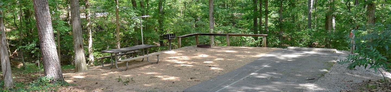 McKinney Campground Site 13