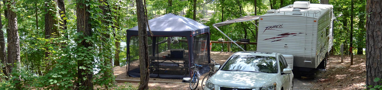 McKinney Campground Site 20