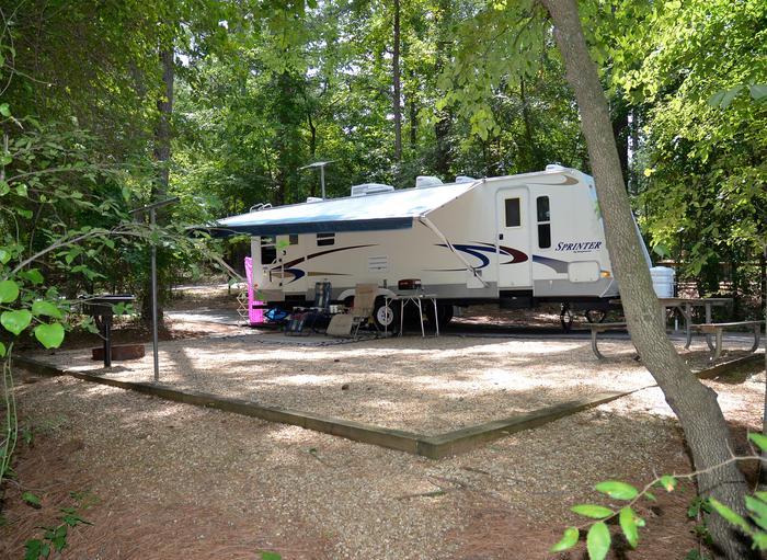 McKinney Campground Site 32