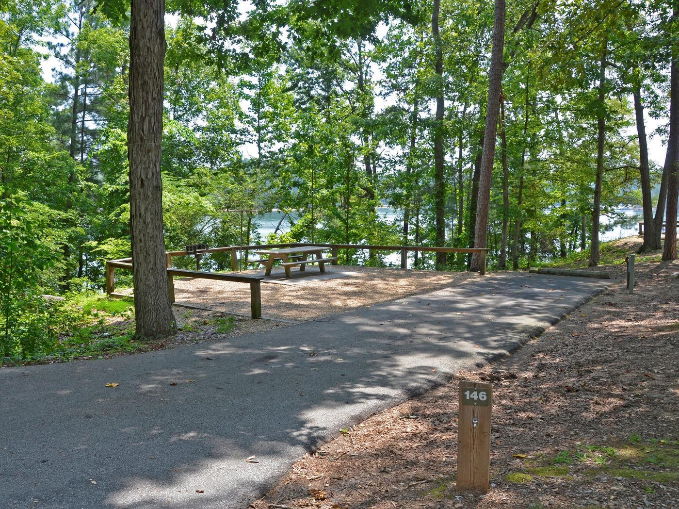 McKinney Campground Site 146..McKinney Campground Site 146