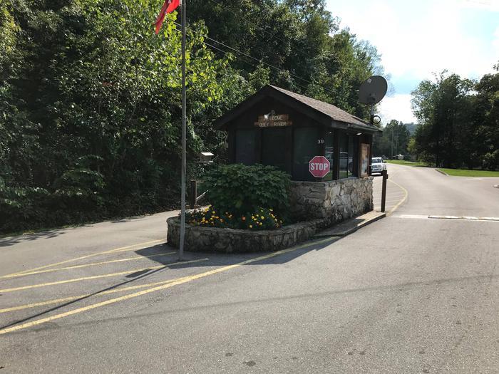 OBEY RIVER PARK ENTRANCE STATION