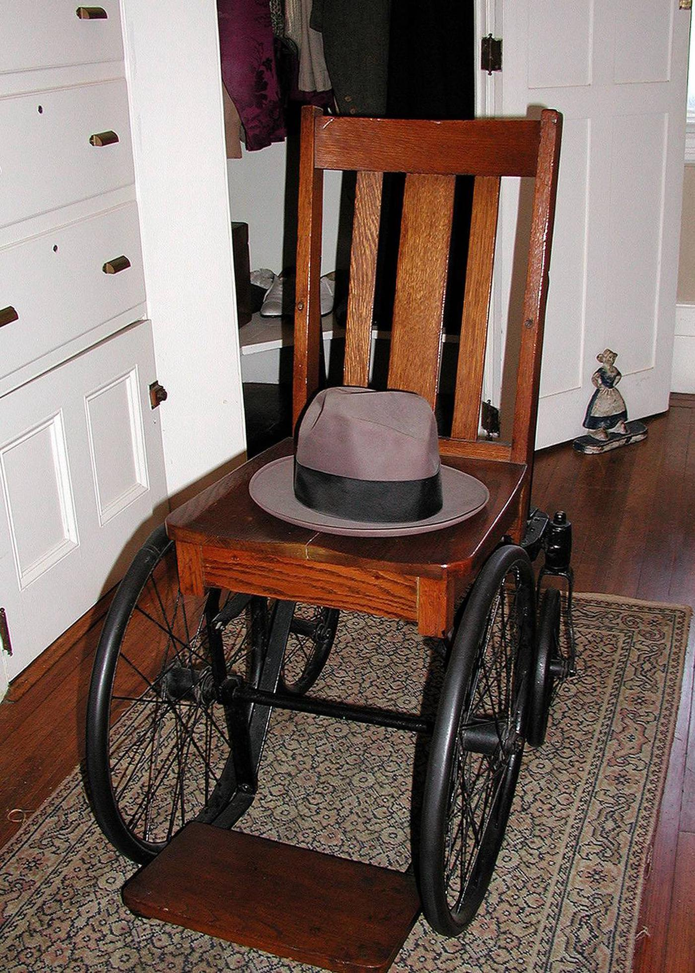 FDR's modified wheelchair