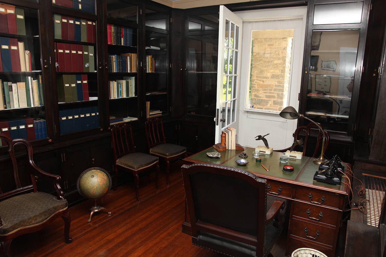 FDR's home office