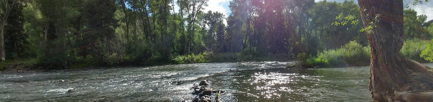Conejos River from Mogote Campground