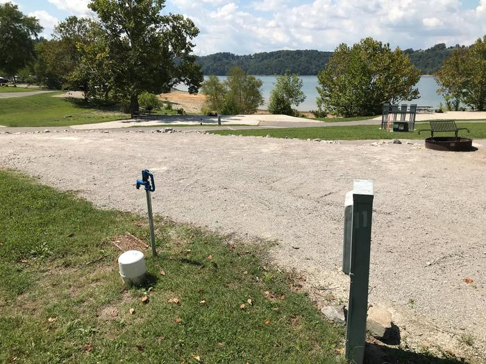OBEY RIVER PARK SITE # 11 WATER & ELECTRICOBEY RIVER PARK SITE # 11 WHITE CAP IS WATER VALVE, NOT SEWER