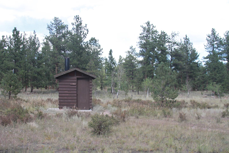 Rustic Vault Toilets