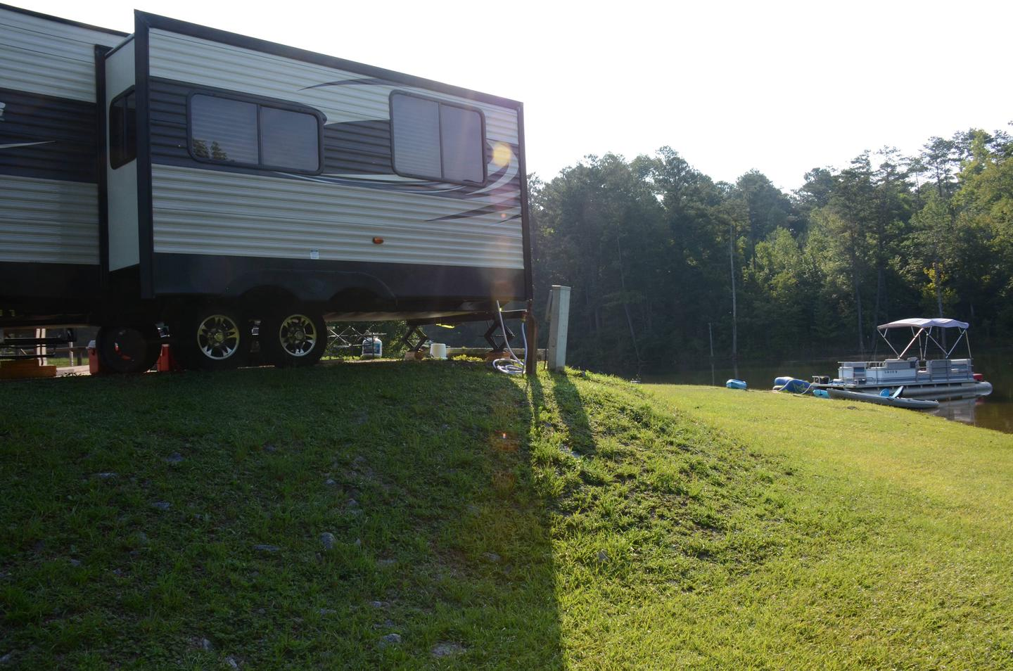 Utilities-side clearance 2.Payne Campground, campsite 11.