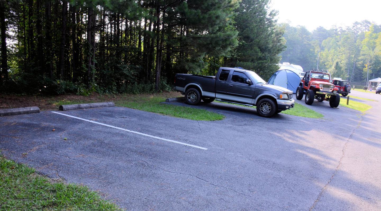 ParkingPayne Campground, campsite 13.  Extra parking.