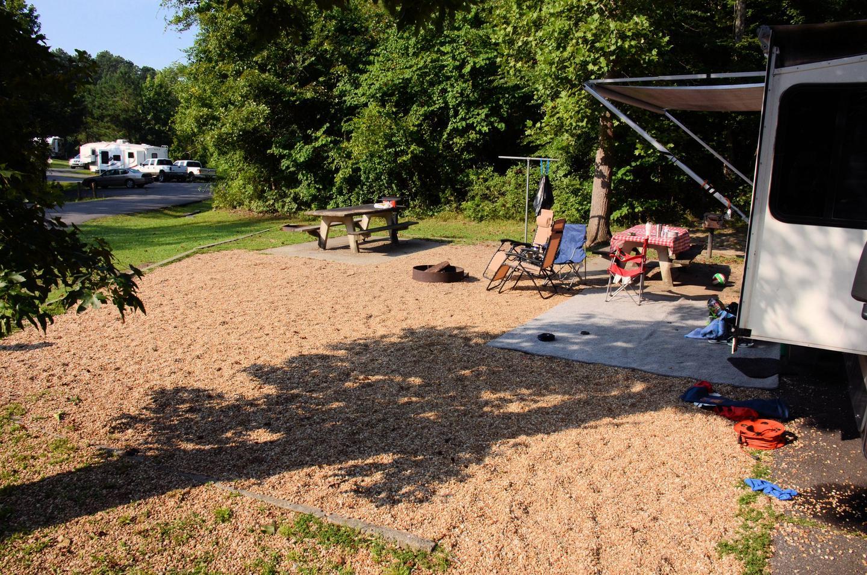 Campsite view.Payne Campground, campsite 15/16.