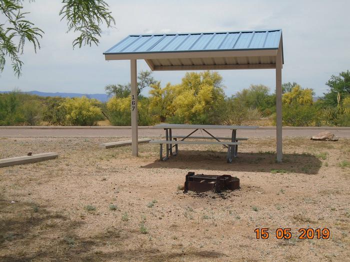 Campsite 167Schoolhouse Campground