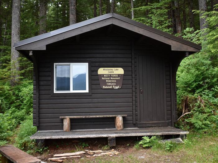 Winstanley Lake Cabin FrontWinstanley Lake Cabin