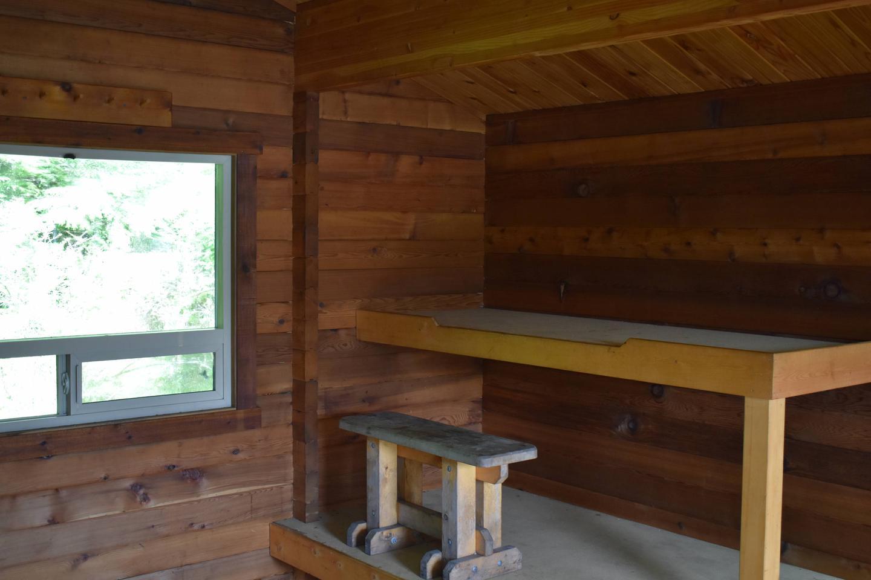 Winstanley Island Cabin Bunk Area