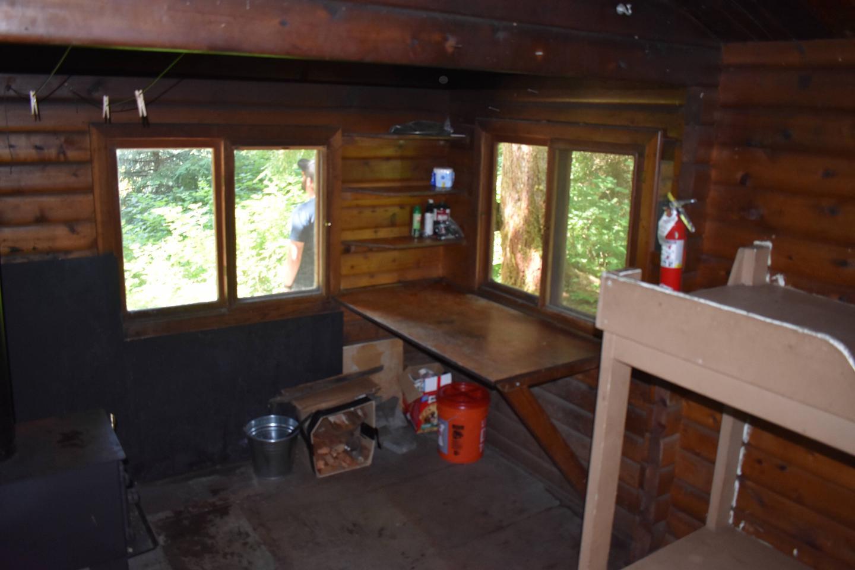 Kitchen Area and stoveKitchen area and stove