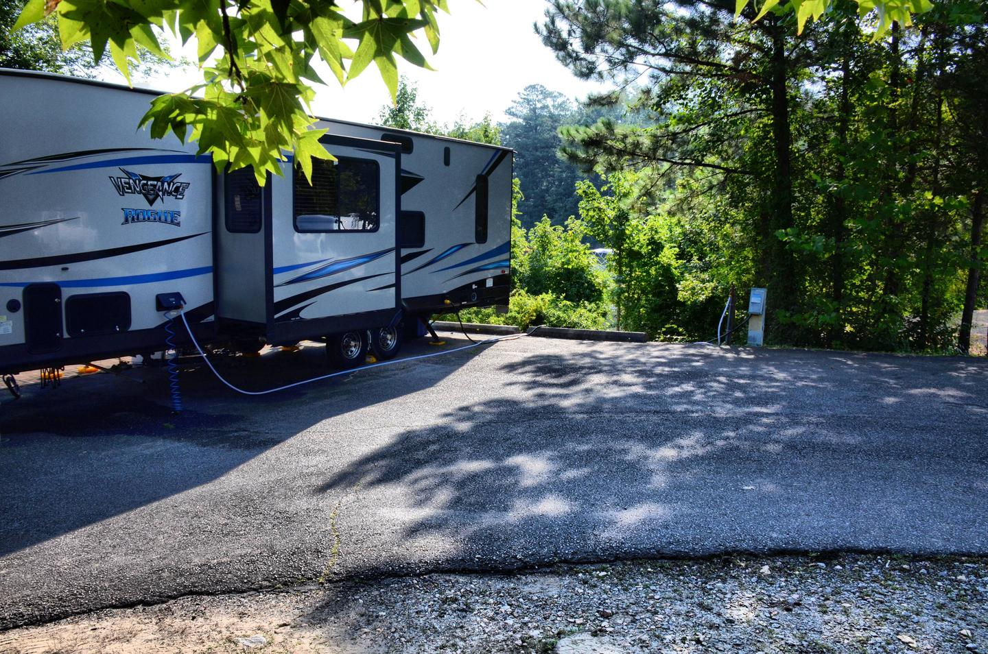 Utilities-side clearance.Payne Campground, campsite 23.