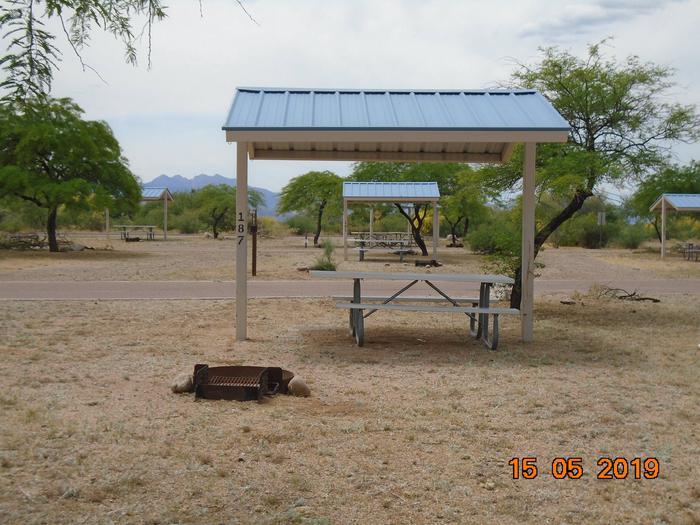Campsite 187Schoolhouse Campground