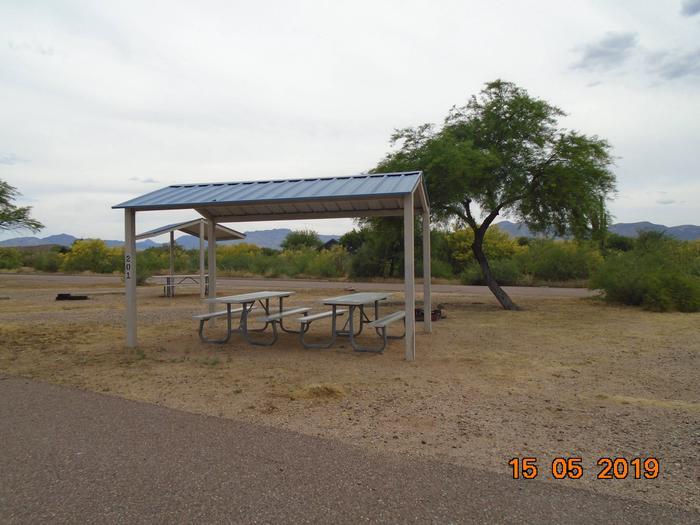 Campsite 201Schoolhouse Campground