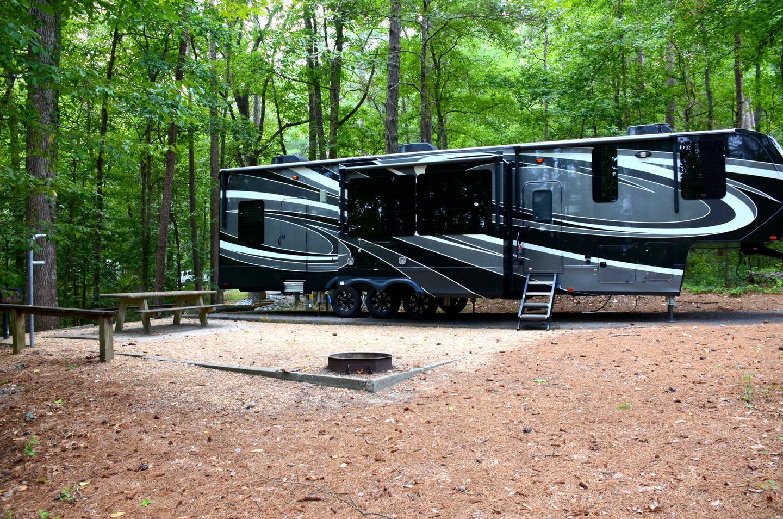 Campsite view.Payne Campground, campsite 38.