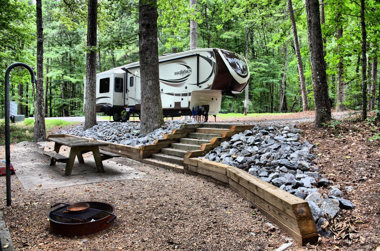 Campsite view.Payne Campground, campsite 39.