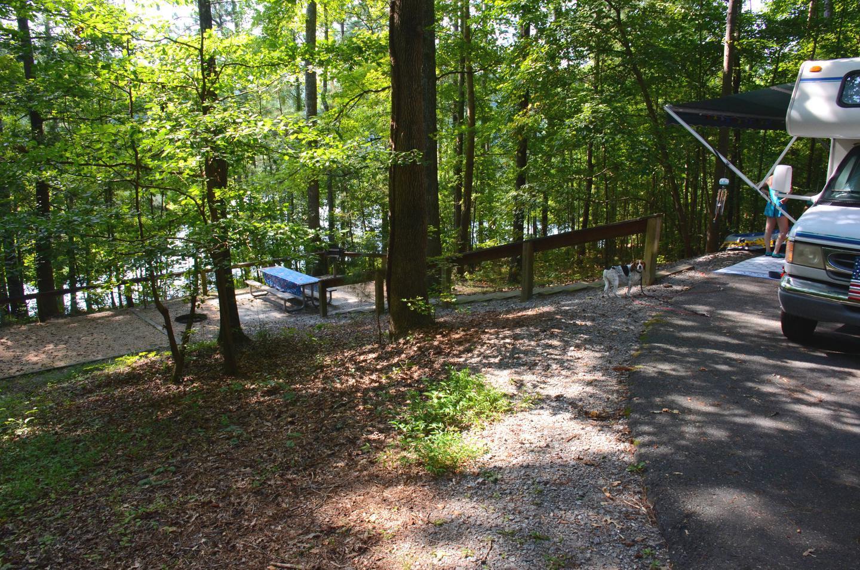 Campsite view.Payne Campground, campsite 40.