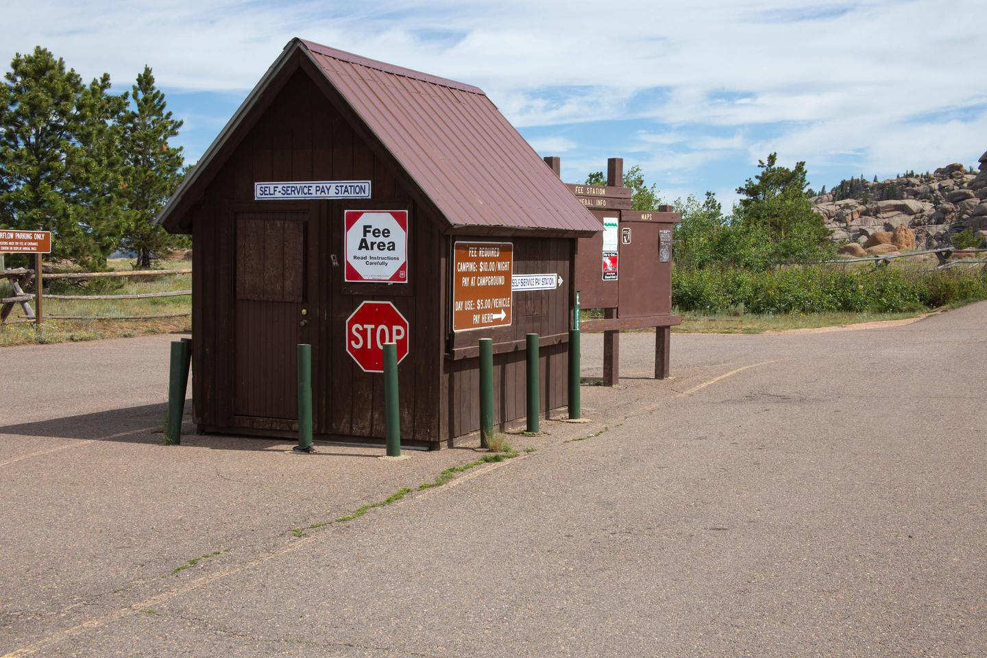 Vedauwoo Recreation Area Fee Station