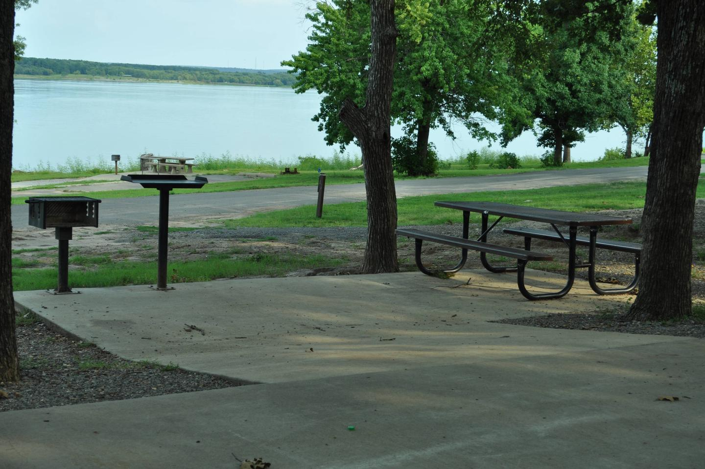Site 36 has a movable metal picnic table and a great lake view.Site 36 - Taylor Ferry