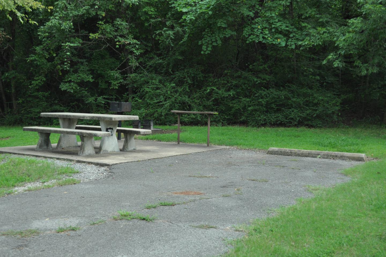 Site 70 has an asphalt drive and concrete impact pad.Site 70 - Taylor Ferry