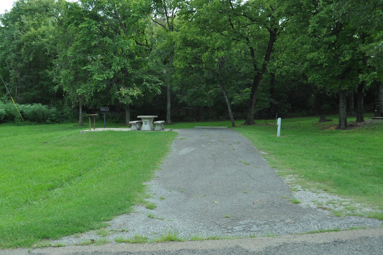 Site 73 has an asphalt drive.Site 73 - Taylor Ferry