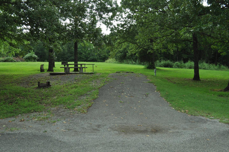 Site 79 offers an asphalt drive.Site 79 - Taylor Ferry