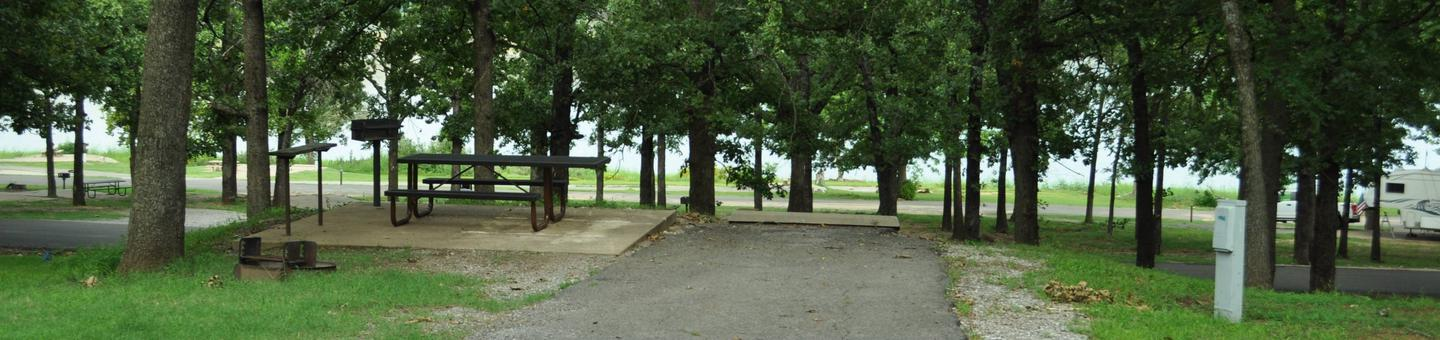 Site 80 is located on the upper road and offers a lake view through the trees.Site 80 - Taylor Ferry