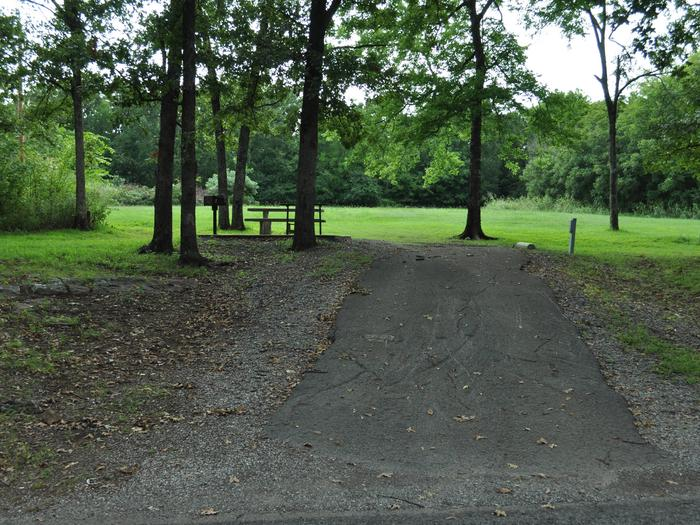 Site 81 has a fairly steep drive and is best suited for pickup campers, popup trailers or tents.Site 81 - Taylor Ferry