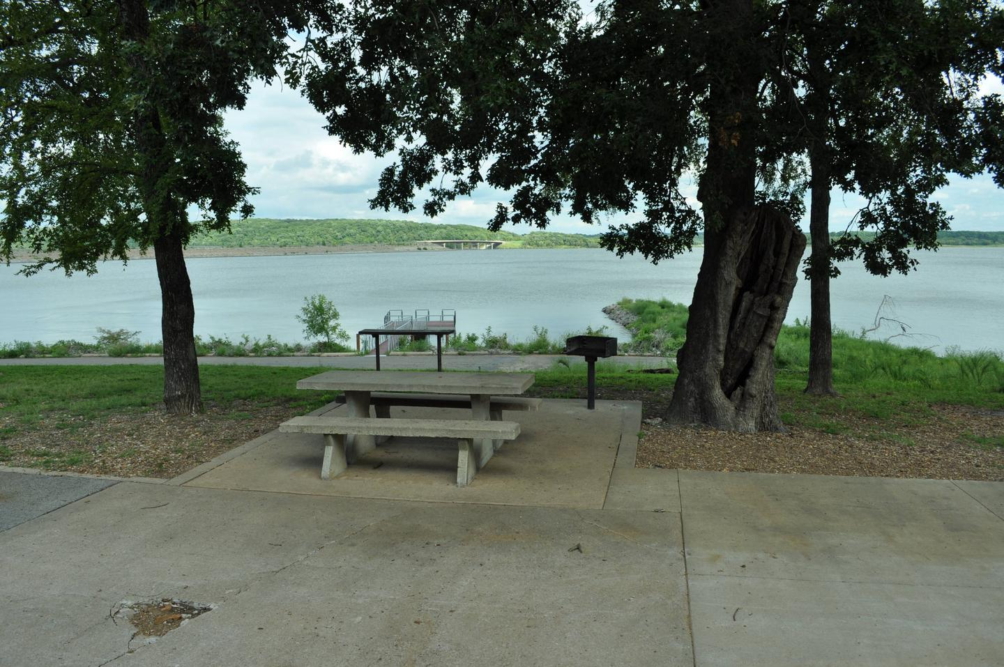 Site 91 is located near the boat ramp and courtesy dock.Site 91 - Taylor Ferry