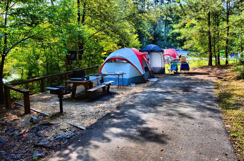Campsite view.Payne Campground, campsite 44.