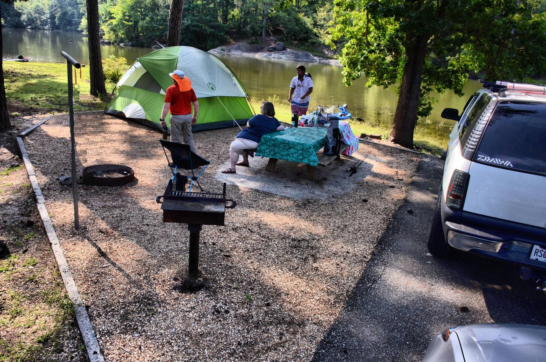 Campsite view.Payne Campground, campsite 48.