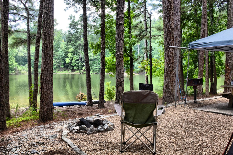 Campsite view-3.Payne Campground, campsite 51