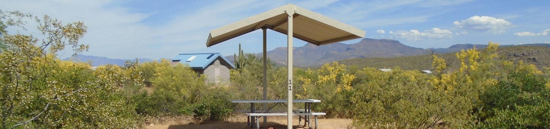 Campsite 11, Coati LoopWindy Hill Campground