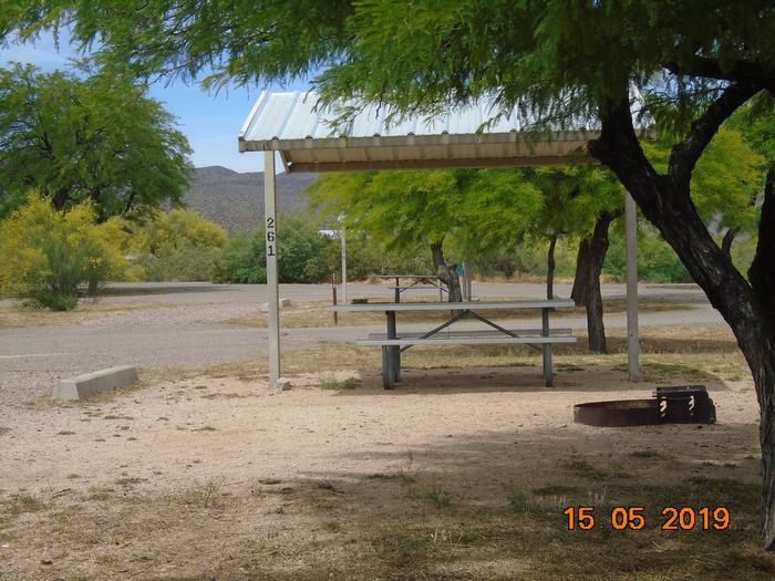Campsite 261Windy Hill Campground