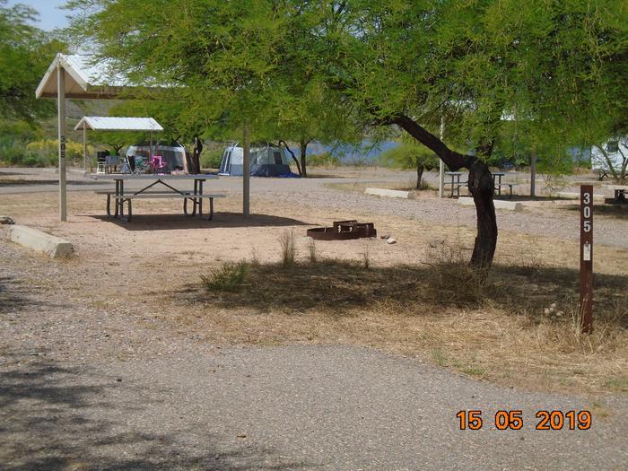 Campsite 305Windy Hill Campground