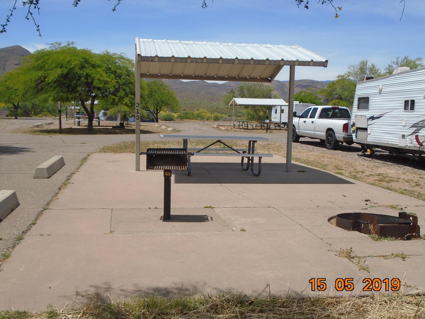 Campsite 313Windy Hill Campground