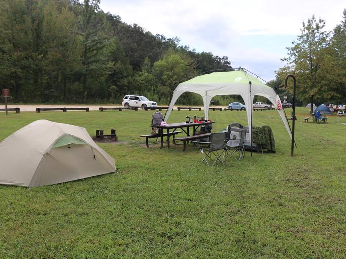 Steel Creek Camp Site #1