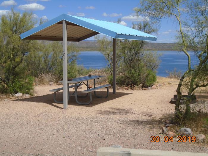 Campsite 167Cholla Campground