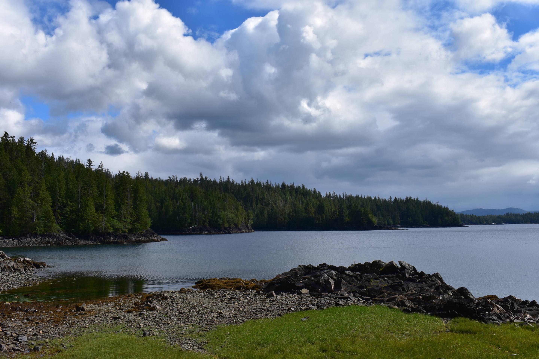 Alava Bay from cabinAlava Bay