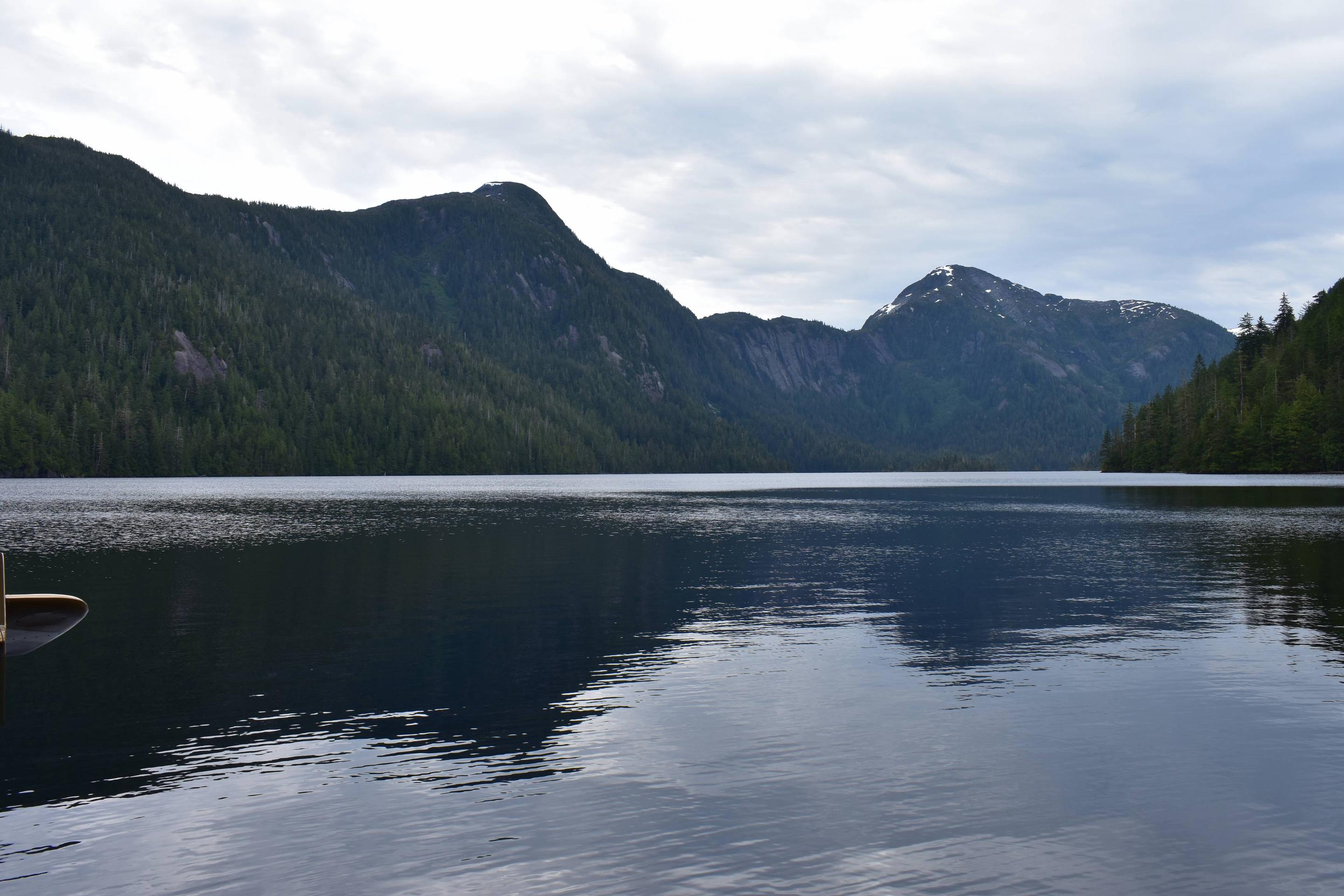 Checats Lake from Cabin
